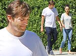 Ashton Kutcher and Mila Kunis step out just hours after 'Hollywood Ripper' gets convicted of murder