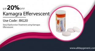 Kamagra Effervescent 100mg | Buy Sildenafil Effervescent Tablets Online