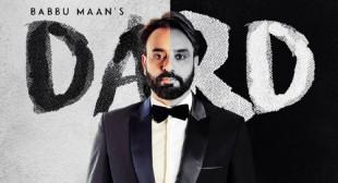Dard Lyrics – Babbu Maan