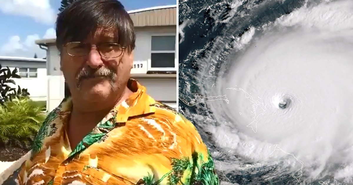 Man says military can stop Hurricane Dorian by dropping ice on storm