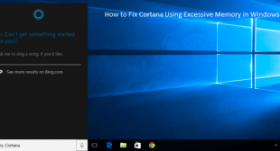 How to Fix Cortana Using Excessive Memory in Windows 10 – www.office.com/setup