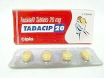 Tadacip 20mg Tablets available online at low prices for males only