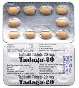 Tadaga 20mg for sale for men's