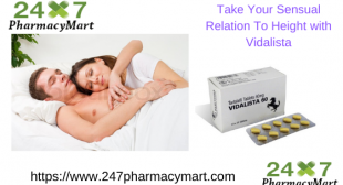 What is the viable treatment to cure ED issues – Use Vidalista | 247PharmacyMart