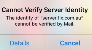 "How to Fix ""Cannot Verify Server Identity"" Error on iPhone"