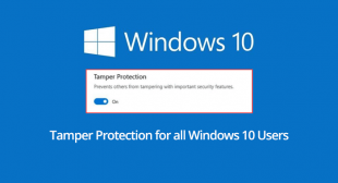 How to Enable or Disable Tamper Protection on Windows 10