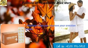 Vidalista 20 paypal | Vidalista review, price, dosage | AlledMart – Cheap ED Pharmacy for Men