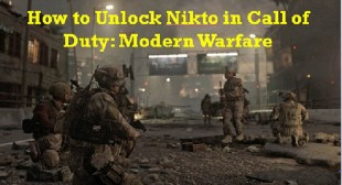 How to Unlock Nikto in Call of Duty: Modern Warfare