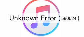 How to Fix 590624 iTunes Error?