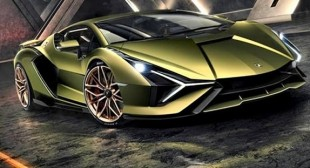 New Lamborghini Looks like Batmobile