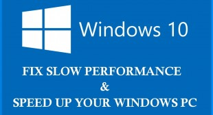 HOW TO FIX SLOW WINDOWS 10 AFTER AN UPDATE?