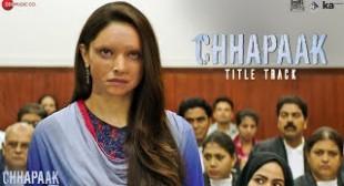 Chhapaak Song Lyrics ARIJIT SINGH|Deepika Padukone