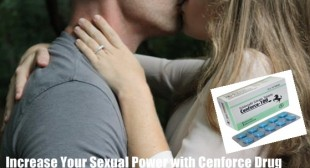 Increase Your Sexual Power with Cenforce Drug