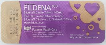 Fildena 100 is the top medicine to treat ED gives quick | AlledMart
