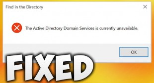 How to Solve Active Directory Domain Services Unavailable Error
