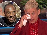 Ellen DeGeneres breaks down as she discusses the death of friend Kobe Bryant