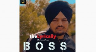 Boss Sidhu Moose Wala Song Lyrics