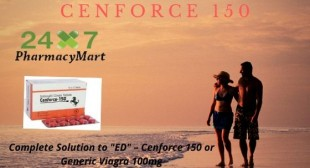 """Complete Solution to """"ED"""" – Cenforce 150 or Generic Viagra"""