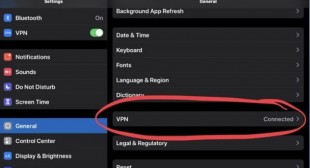 How to See VPN Connect Time on iPad or iPhone