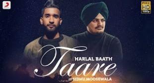 Sidhu Moosewala & Harlal Batth's 'TAARE' Lyrics