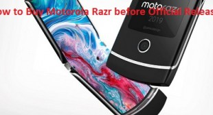How to Buy Motorola Razr before Official Release – McAfee Activate