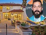 Shia LaBeouf snaps up luxurious $5.475 million Mediterranean-style villa with ELEVATOR in Pasadena