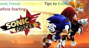 Sonic Force: 10 Beginner Tips to Know Before Starting – Webroot Safe