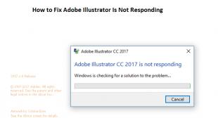 How to Fix Adobe Illustrator Is Not Responding – Office Setup