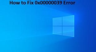 How to Fix 0x00000039 Error – Norton Setup