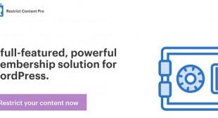 Free Download Restrict Content Pro (Nulled) – Membership Plugin For WordPress – FreeWpHub