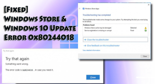 How to Fix 0x80244018 Windows Store Error on Windows 10?