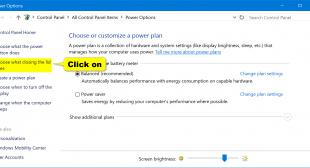 How to Customize Lid Close Action and Settings on Windows 10