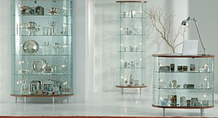 High quality Glass Showcase Cabinets
