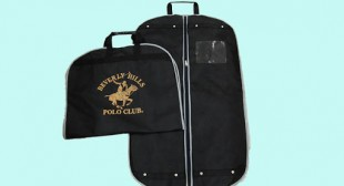 High Quality Printed Zippered Garment Bags
