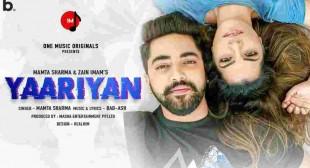 Yaariyan Lyrics in English – Mamta Sharma