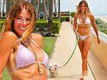 Kelly Bensimon, 52, shows off bikini body in West Palm Beach