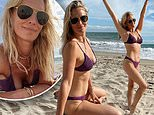 Molly Sims, 47, takes on Sports Illustrated challenge where she re-creates her favorite bikini poses