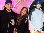Rob Kardashian shows off impressive weight loss as he makes rare appearance at Khloe's 36th birthday