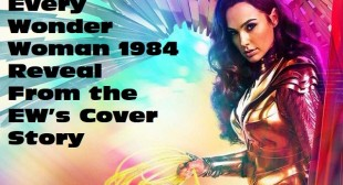 Every Wonder Woman 1984 Reveal From the EW's Cover Story