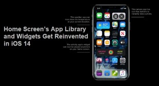 Home Screen's App Library and Widgets Get Reinvented in iOS 14