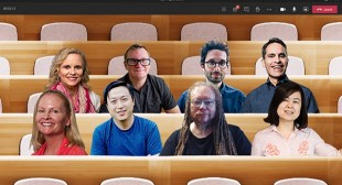 'Together Mode' of Microsoft Teams Makes Meetings Feel Like in the Same Room