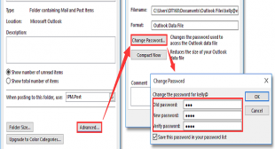 Change/Reset Your Microsoft Outlook Password With These Steps