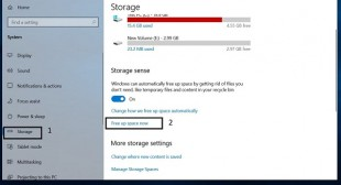 5 Ways to Free up Disk Space in Windows 10