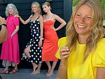 Gwyneth Paltrow, Blythe Danner and Apple Martin on skincare