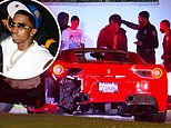 Diddy's son King Combs injured in Beverly Hills car crash